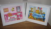 Personalised art for babies and children