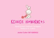 Hand knit kiddie Cardigans