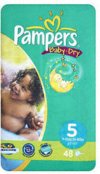Pampers Baby Dry ONLY 8 EURO