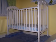 Cot and changing table to match