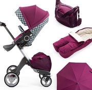 stokke xplory v4  with 3 years warranty new born baby stroller