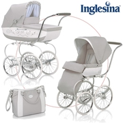 Inglesina Classica Stroller system with diaper bag and footmuff