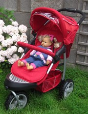 3 wheeler pushchair for sale